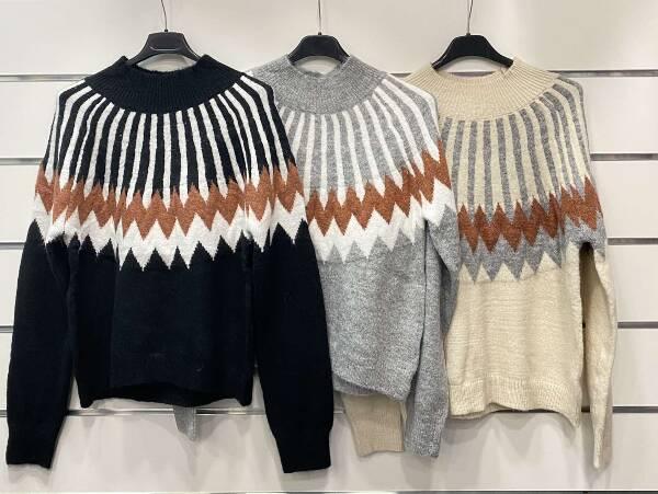 Sweter Damski 7505 MIX KOLOR STANDARD
