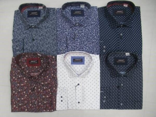 Koszula Męska Długi Rękaw TT061(B) MIX KOLOR M-3XL