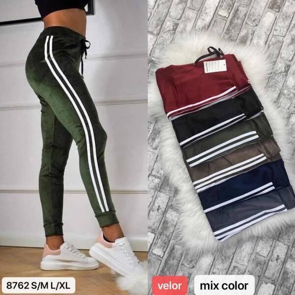 Spodnie Damskie 8762 MIX KOLOR S/M-L/XL
