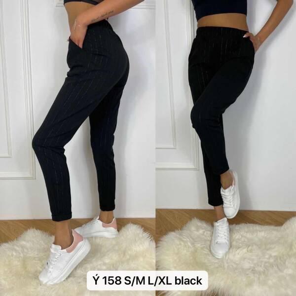 Spodnie Damskie Y158 1 KOLOR S/M-L/XL