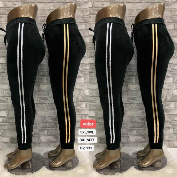 Legginsy Damskie BIG131 MIX KOLOR 3XL/4XL-5XL/6XL