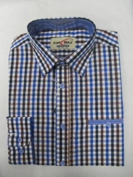 Koszula Męska Długi Rękaw FV053C(FV3-17) 1 KOLOR 38-46