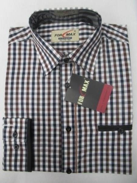 Koszula Męska Długi Rękaw FV68B(FV3-21) 1 KOLOR 38-46