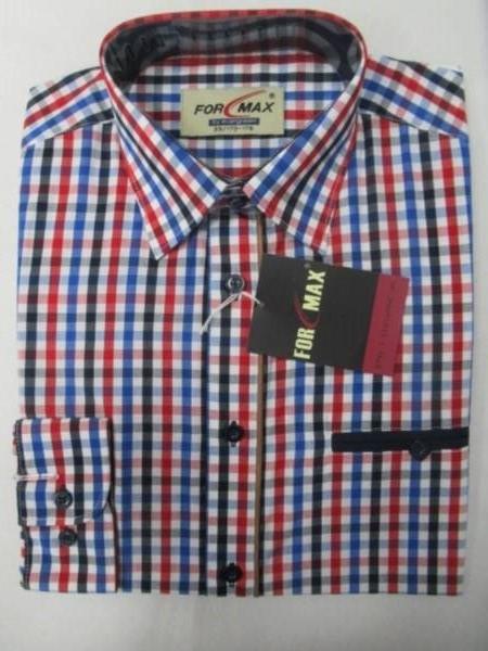 Koszula Męska Długi Rękaw FV053C(FV3-18) 1 KOLOR 39-46