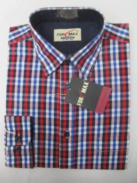 Koszula Męska Długi Rękaw FV068A(FV5-5) 1 KOLOR 39-46