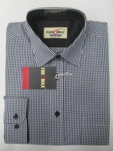 Koszula Męska Długi Rękaw FV068A(P54-2B) 1 KOLOR 39-46