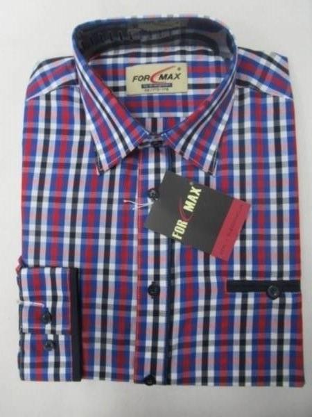 Koszula Męska Długi Rękaw FV068B(FV5-4) 1 KOLOR 39-46