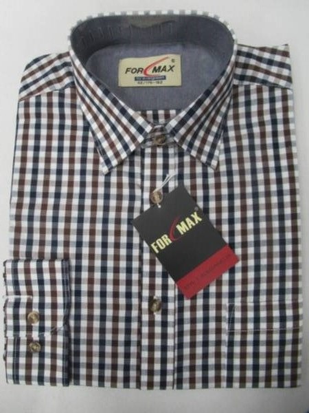 Koszula Męska Długi Rękaw FV068A(FV3-21) 1 KOLOR 39-46