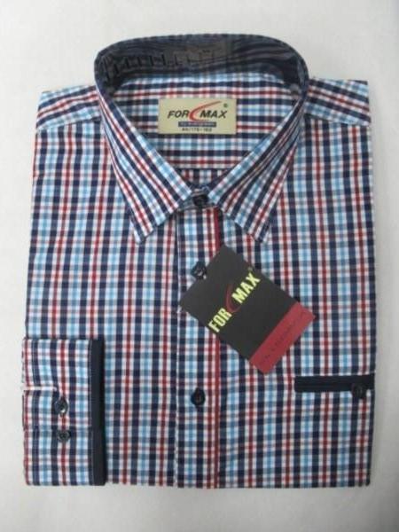 Koszula Męska Długi Rękaw FV068B(FV3-25B) 1 KOLOR 39-46