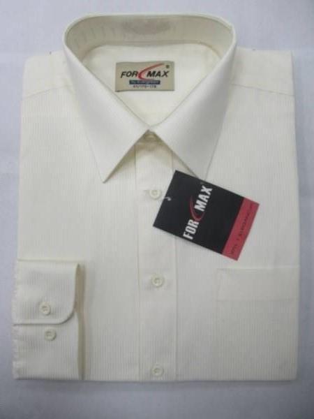 Koszula Męska Długi Rękaw F032(KN-BA9B) 1 KOLOR 38-46