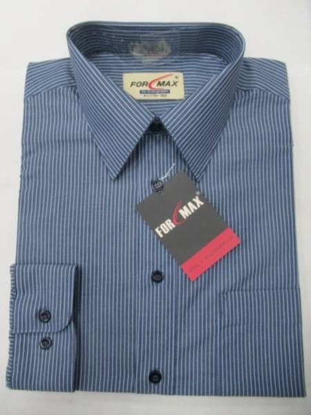 Koszula Męska Długi Rękaw E040SLIM(T2-1) 1 KOLOR 38-46