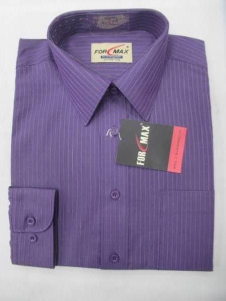 Koszula Męska Długi Rękaw T032(TSH-33) 1 KOLOR 38-46