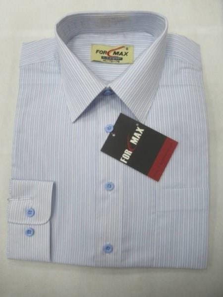 Koszula Męska Długi Rękaw JV032(N2-30) 1 KOLOR 38-46
