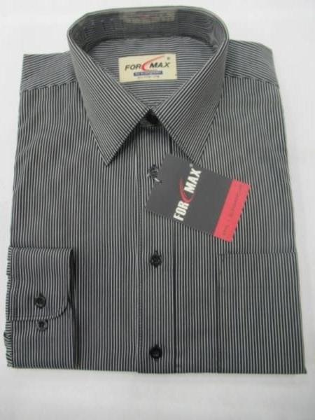 Koszula Męska Długi Rękaw T032(TSH4-29) 1 KOLOR 38-46