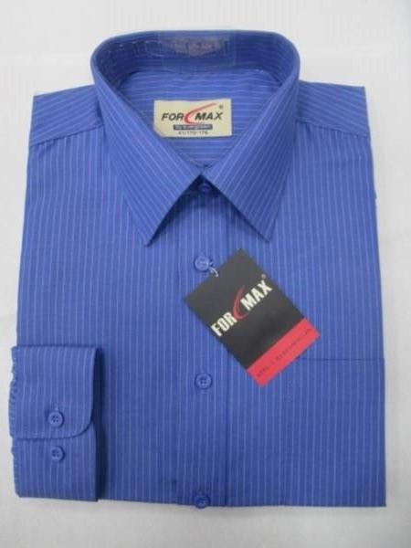 Koszula Męska Długi Rękaw T032(TSM4-39) 1 KOLOR 38-46