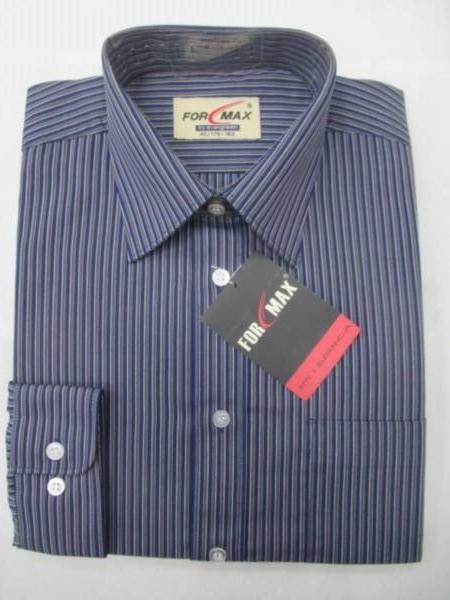 Koszula Męska Długi Rękaw E020(ESM2-3A) 1 KOLOR 38-46
