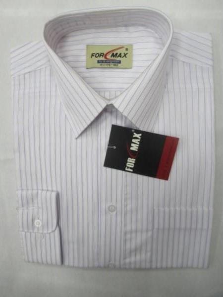 Koszula Męska Długi Rękaw JV032(RKQ19-48) 1 KOLOR 38-46