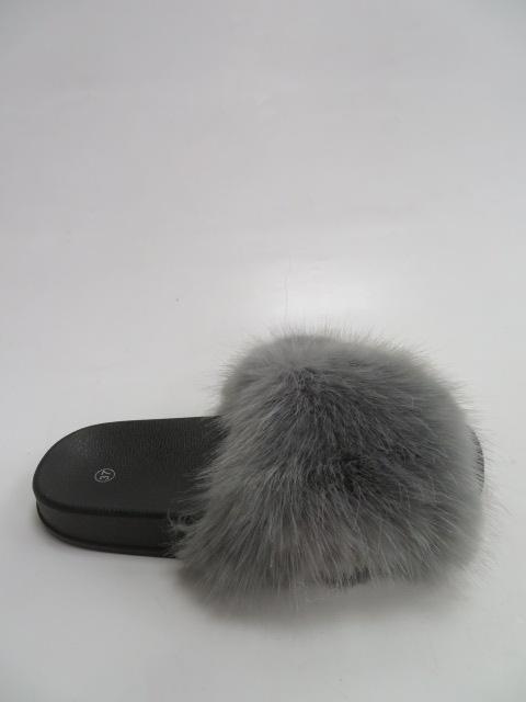 Klapki Damskie CK107,  Grey, 36-41