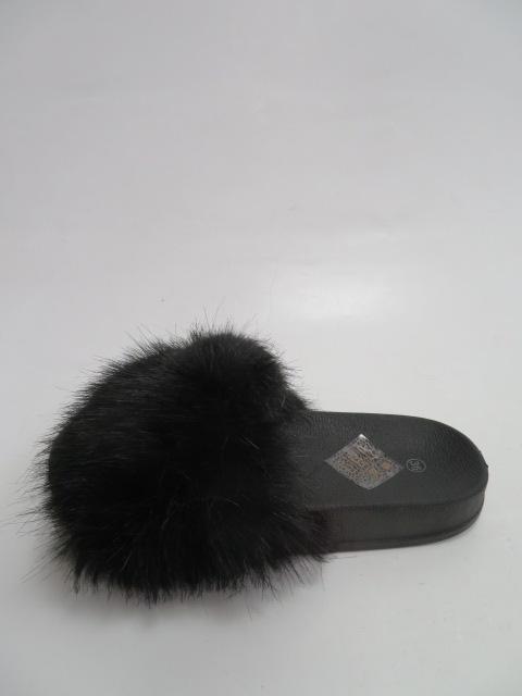 Klapki Damskie CK107,  Black, 36-41