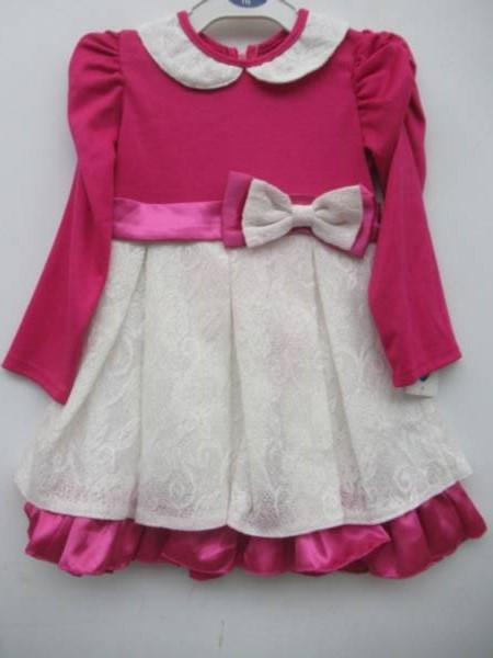 Sukienka Dziewczęca F8066 1 KOLOR 98-116