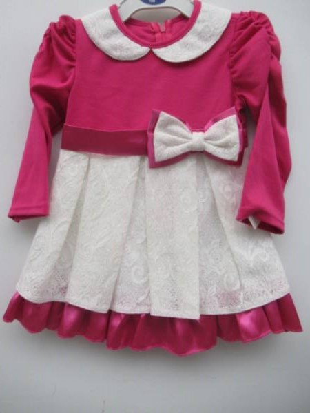 Sukienka Dziewczęca F8227 1 KOLOR 98-128