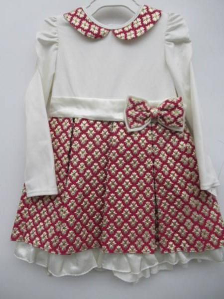 Sukienka Dziewczęca F8238 1 KOLOR 98-128