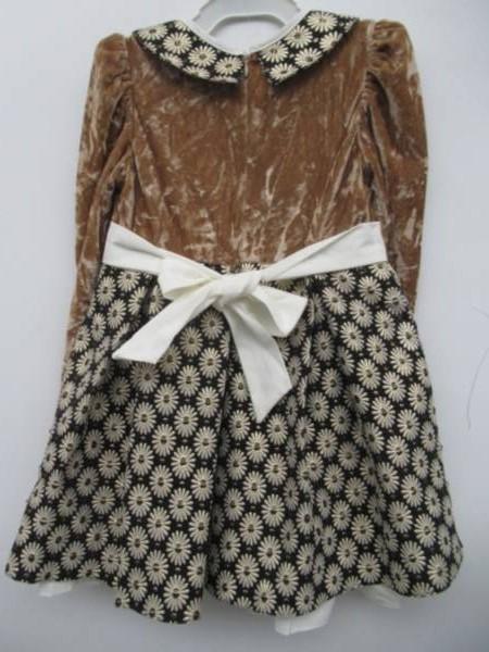 Sukienka Dziewczęca F8249 1 KOLOR 98-128