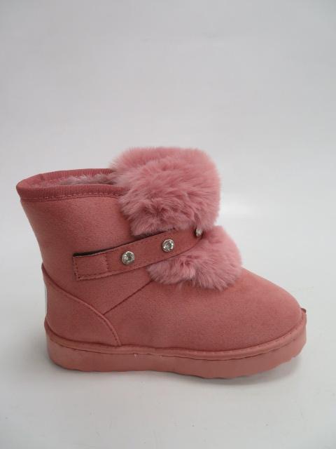 Botki Dziecięce A981, Pink, 31-36
