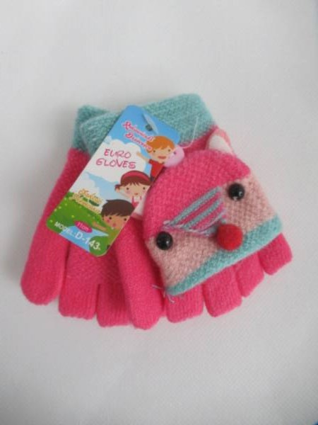 Rękawiczki Dziecięce B143 MIX KOLOR 11CM 1