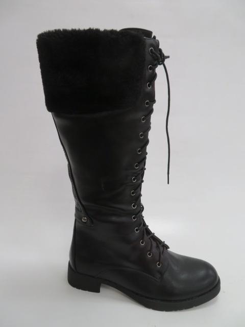 Kozaki Damskie 912, Black, 36-41