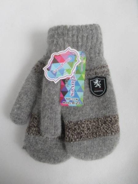 Rękawiczki Dziecięce B23 MIX KOLOR 17CM