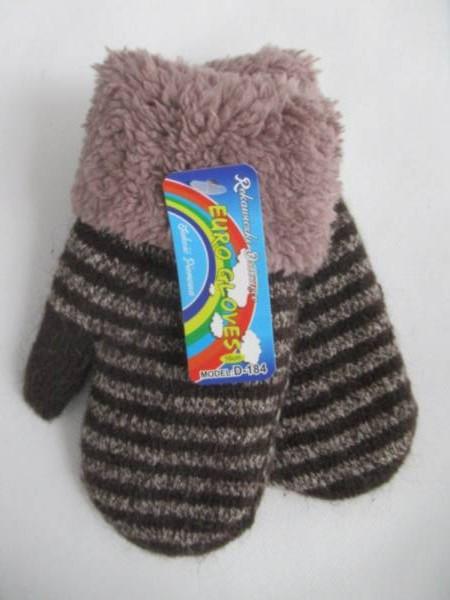 Rękawiczki Dziecięce D184 MIX KOLOR 16CM