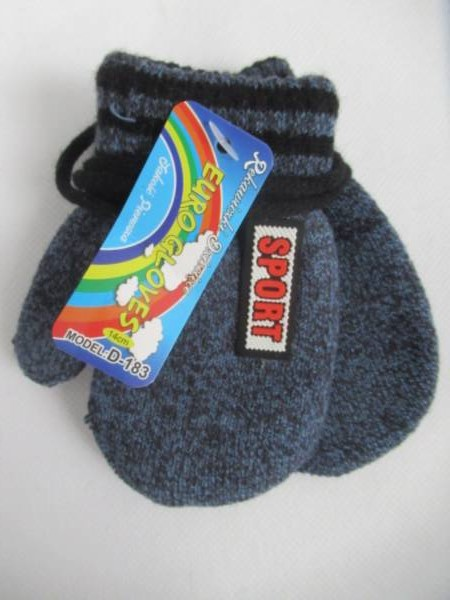 Rękawiczki Dziecięce D183 MIX KOLOR 14CM