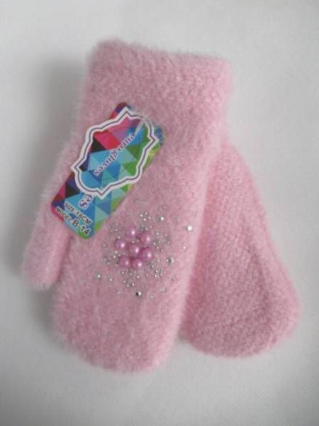 Rękawiczki Dziecięce B14 MIX KOLOR 18CM