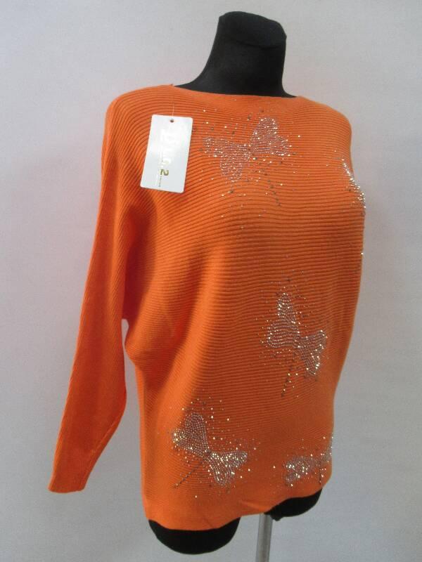 Sweter Damski 6628 MIX KOLOR M/L-XL/2XL 2