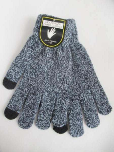 Rękawiczki Męskie A27 MIX KOLOR STANDARD