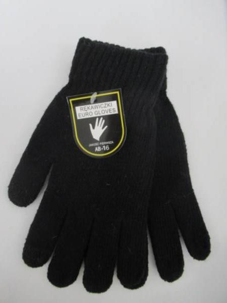 Rękawiczki Męskie AB16 1 KOLOR STANDARD