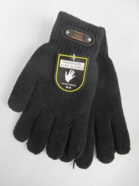 Rękawiczki Męskie A4 1 KOLOR STANDARD