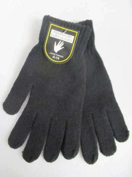 Rękawiczki Męskie A14 1 KOLOR STANDARD