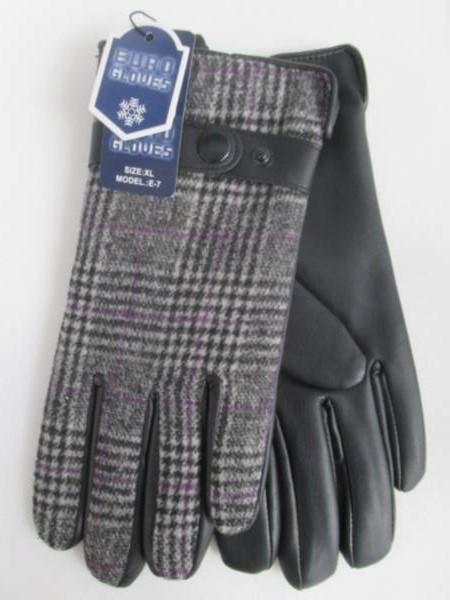 Rękawiczki Męskie E7 1 KOLOR L-XL