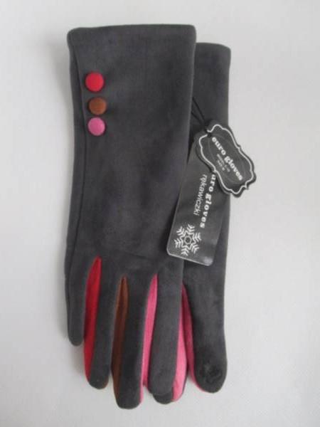 Rękawiczki Damskie C19 MIX KOLOR M-L 1