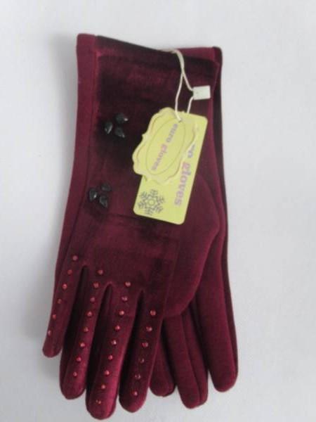 Rękawiczki Damskie CB20 MIX KOLOR M-L 1