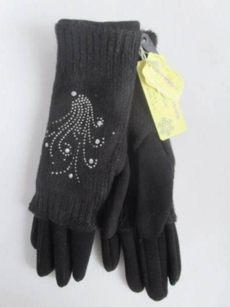 Rękawiczki Damskie CA10 MIX KOLOR M-L 1