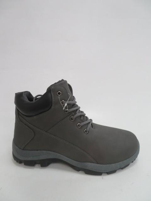 Trzewiki Męskie Zimowe A730-3, D.Grey, 41-46
