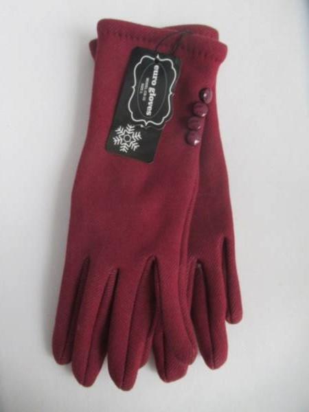 Rękawiczki Damskie CB32 MIX KOLOR M-L ( Ocieplane )