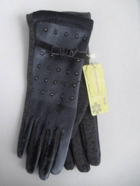 Rękawiczki Damskie CB21 MIX KOLOR M-L ( Ocieplane )