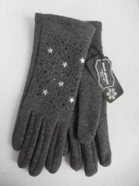 Rękawiczki Damskie F9503 MIX KOLOR M-L ( Ocieplane )