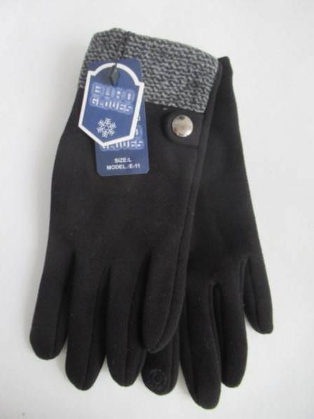 Rękawiczki Męskie E11 MIX KOLOR L-XL ( Ocieplane )