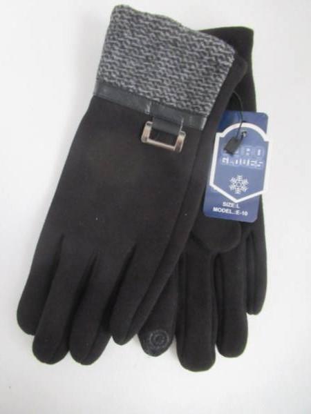 Rękawiczki Męskie E10 MIX KOLOR L-XL ( Ocieplane )