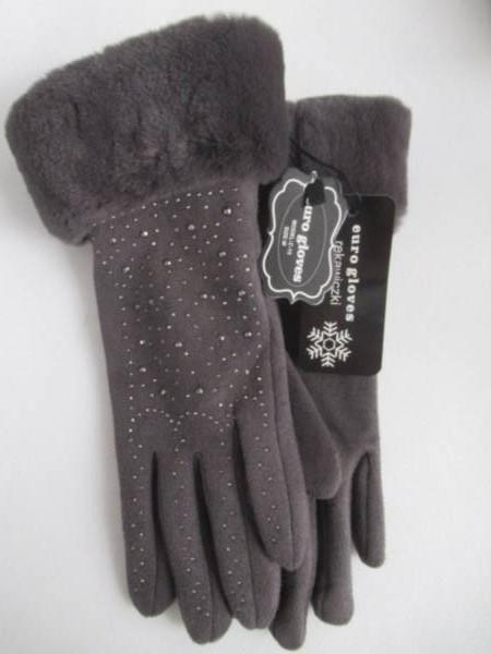 Rękawiczki Damskie C15 MIX KOLOR M-L ( Ocieplane )